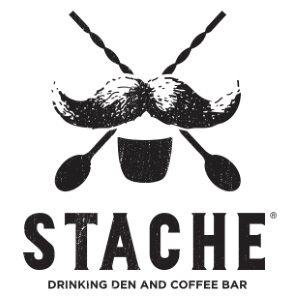 Stache Drinking Den + Coffee Bar Logo